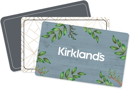 Kirkland's gift cards arrives in minutes!