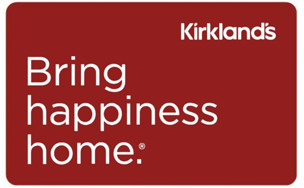 Red Kirklands Holiday Gift Card