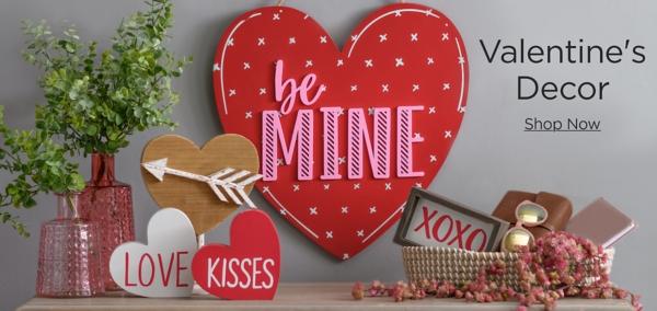 Valentine's Decor Shop Now
