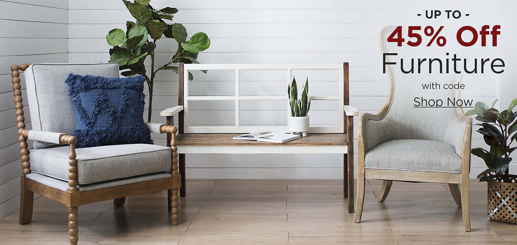 Up to 45% Off Furniture with code: COZY Shop Now