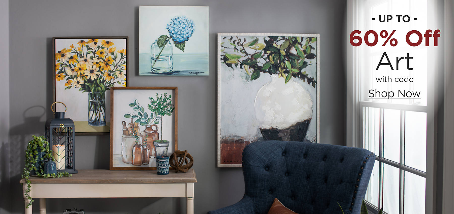 Up to 60% Off Art with code: COZY Shop Now