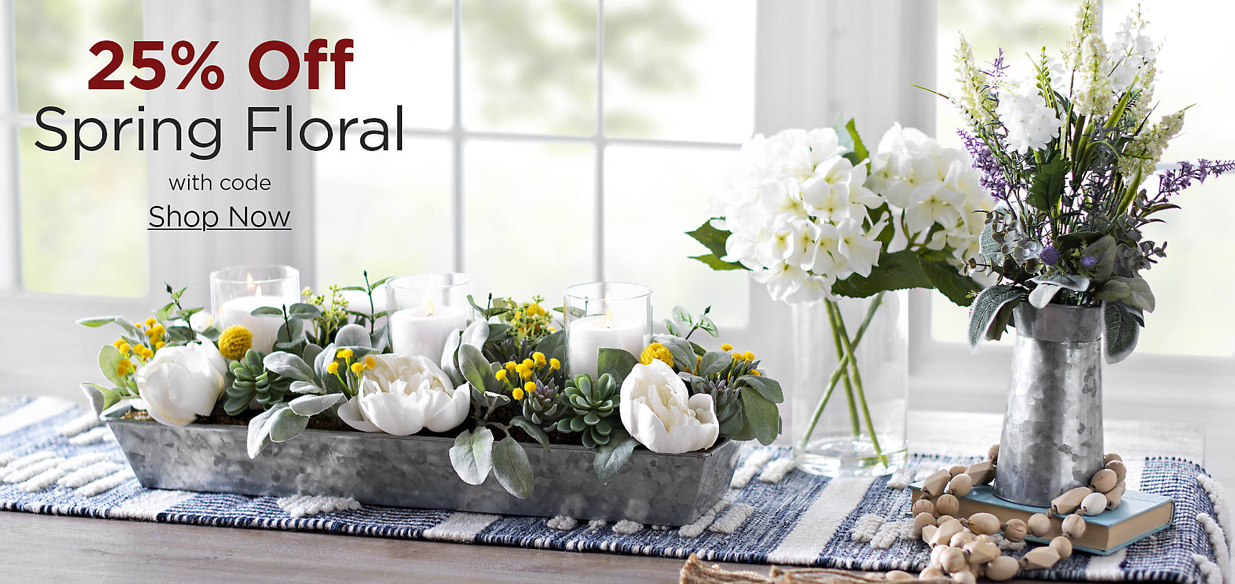 25% Off Spring Floral with code: COZY Shop Now
