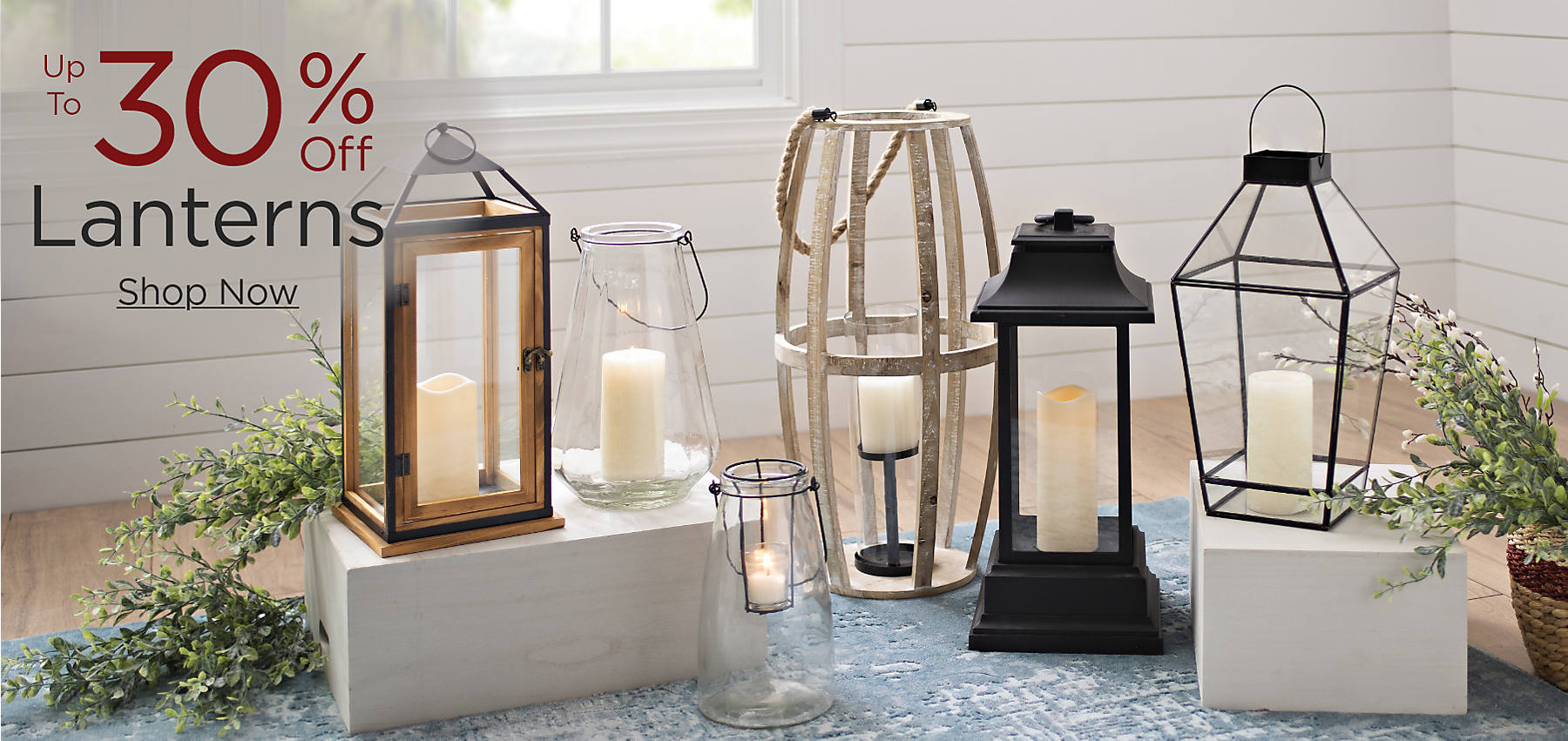 Up to 30% Off Lanterns Shop Now