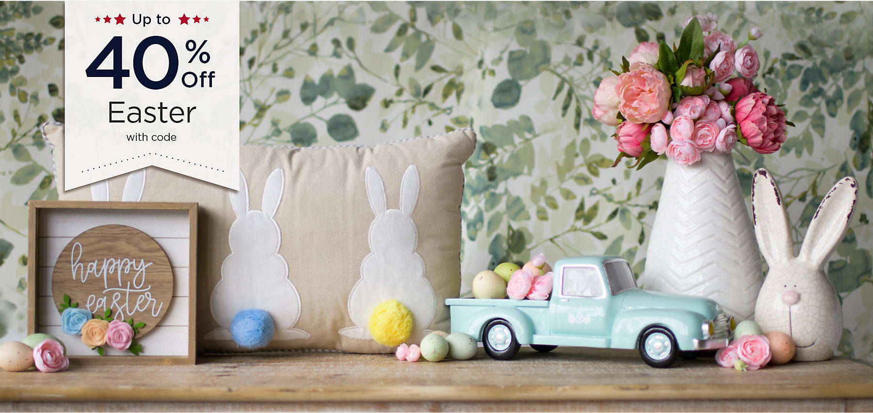 Up to 40% Off Easter with code