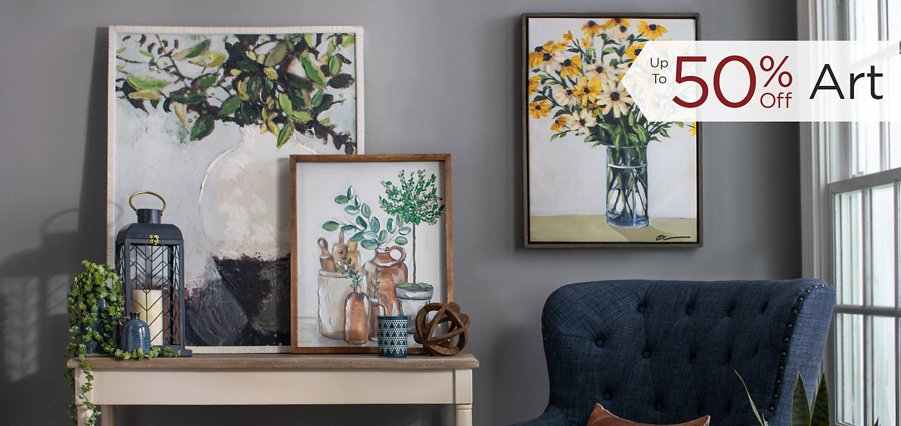 Up to 50% Off Art