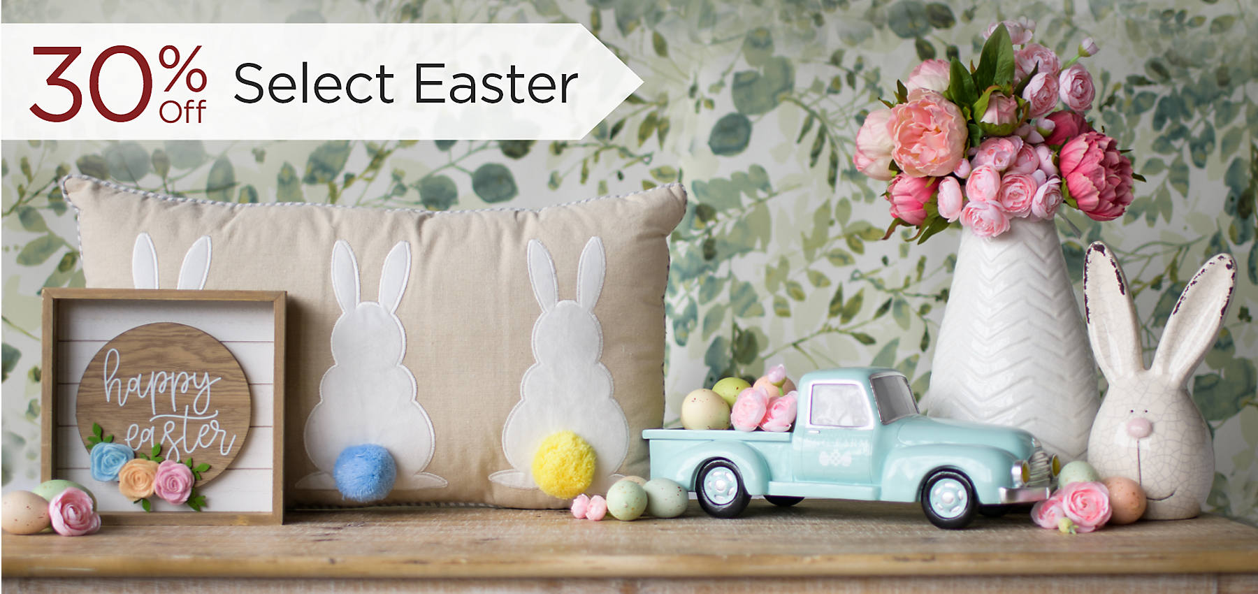 30% Off Select Easter