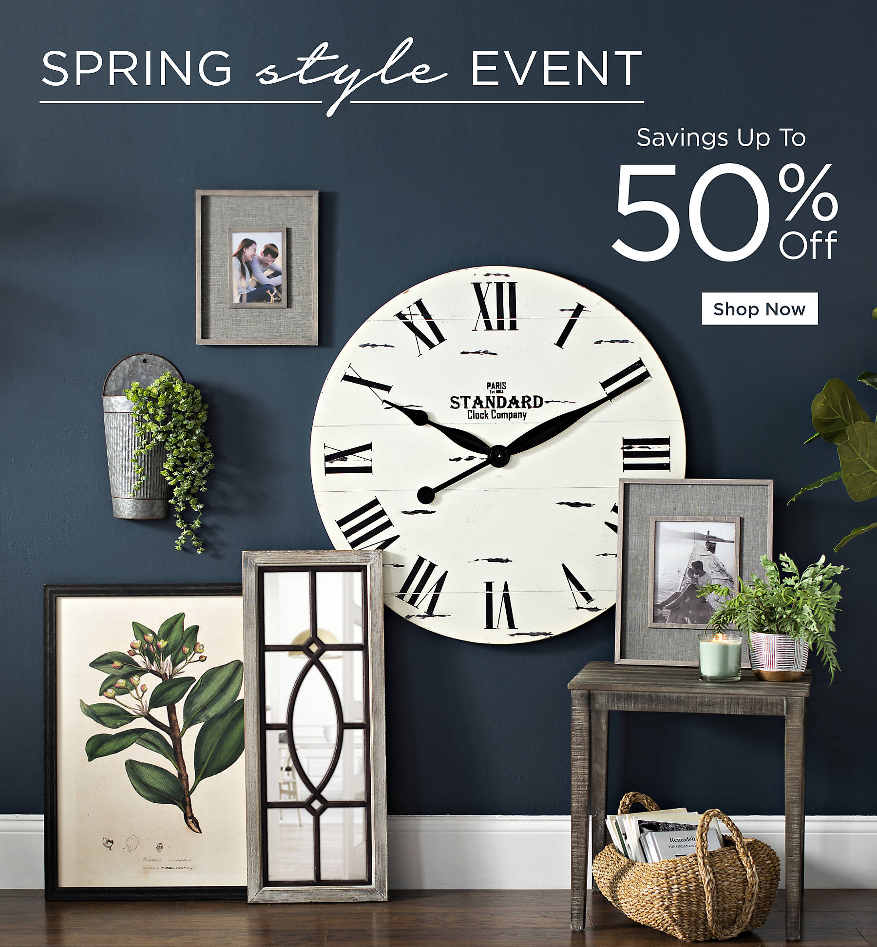 Spring Style Event Savings up to 50% Off Shop Now