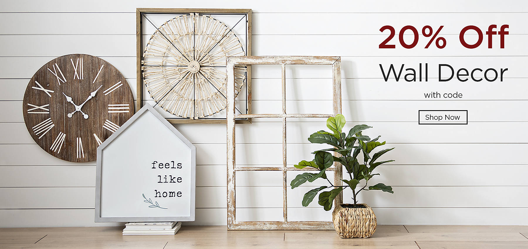 20% Off Wall Decor with code Shop Now