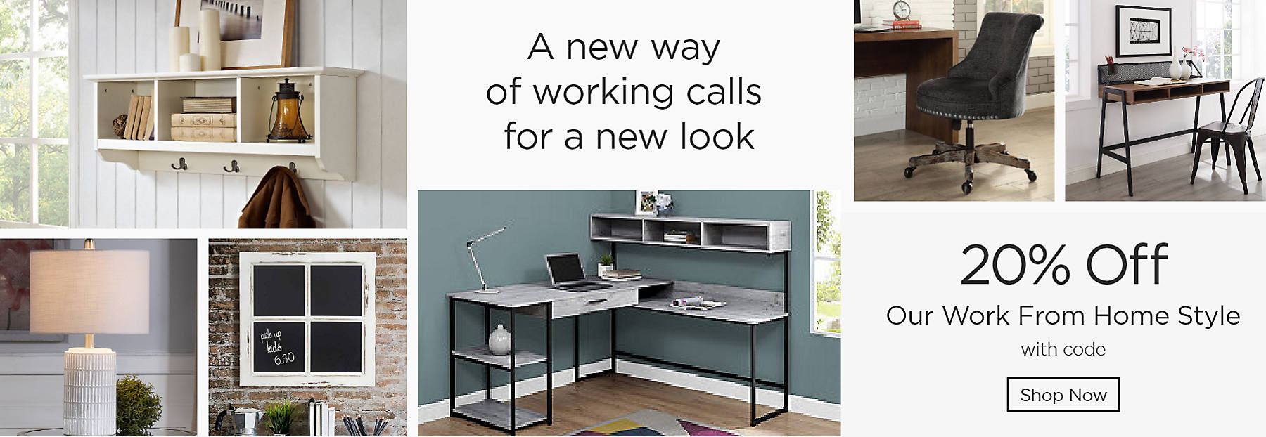 A new way of working calls for a new look 20% Off our work from home style with code Shop Now