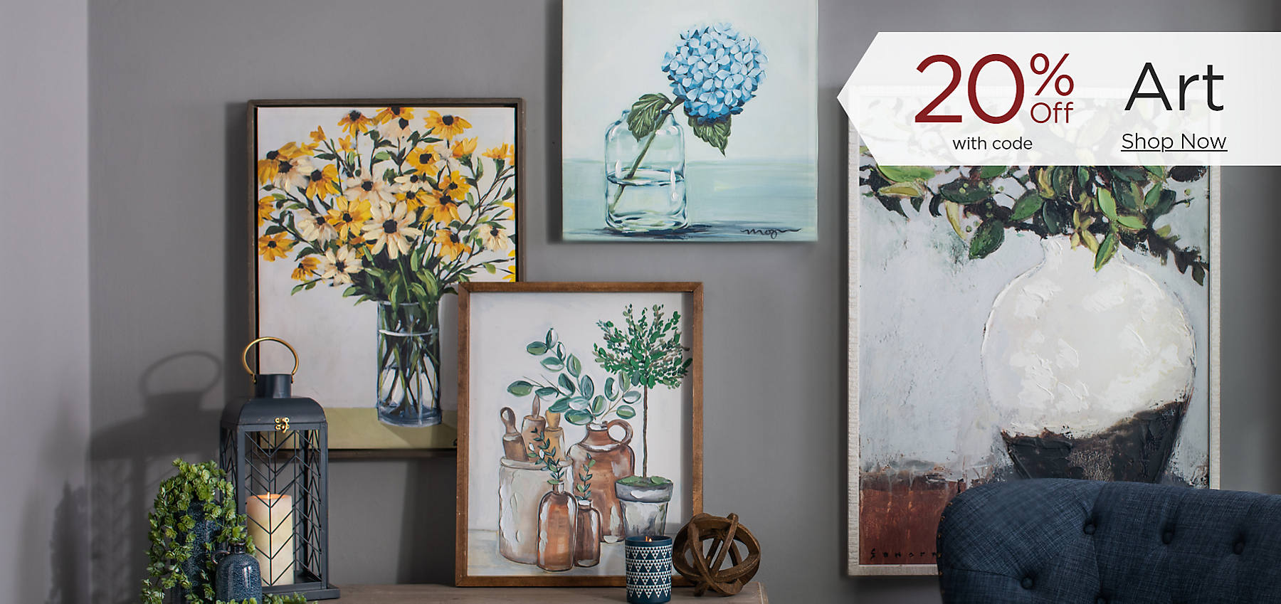 Art 20% Off with code Shop Now