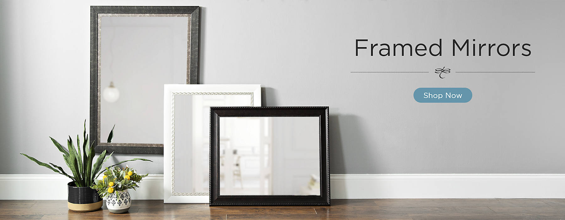 Framed Mirrors Shop Now