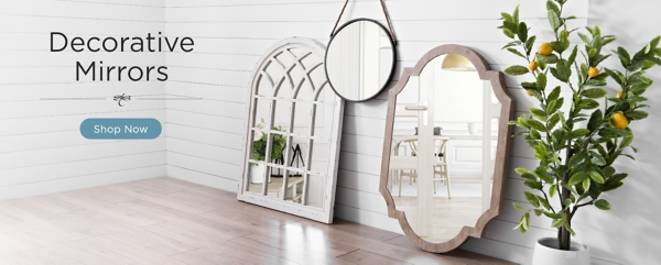 Decorative Mirrors Shop Now