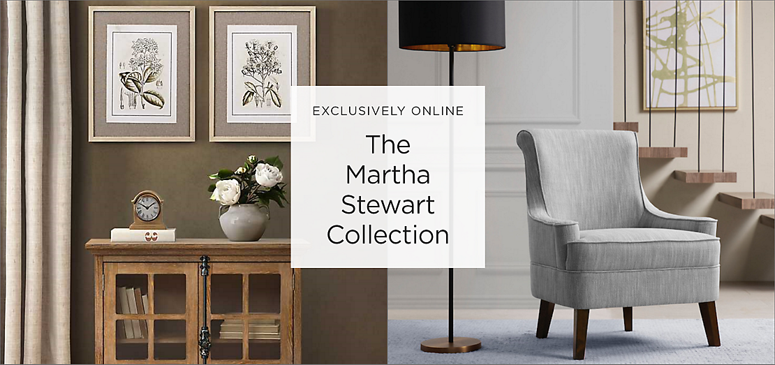 Exclusively Online The Martha Stewart Collection