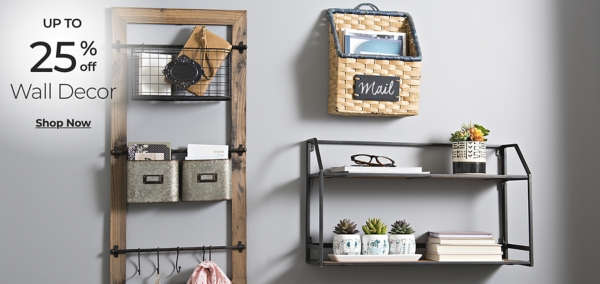 Wall Decor - Up to 25% off