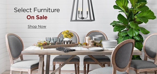 Select Furniture On Sale