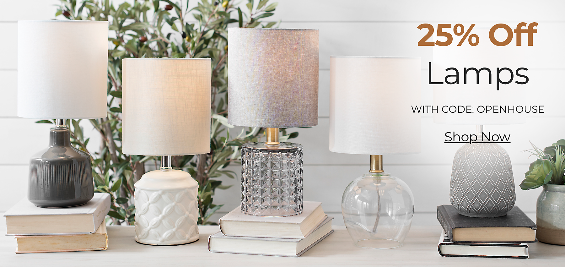 Lamps 25% Off with Code: OPENHOUSE Shop Now