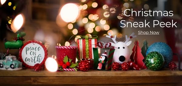 Christmas Sneak Peek Shop Now