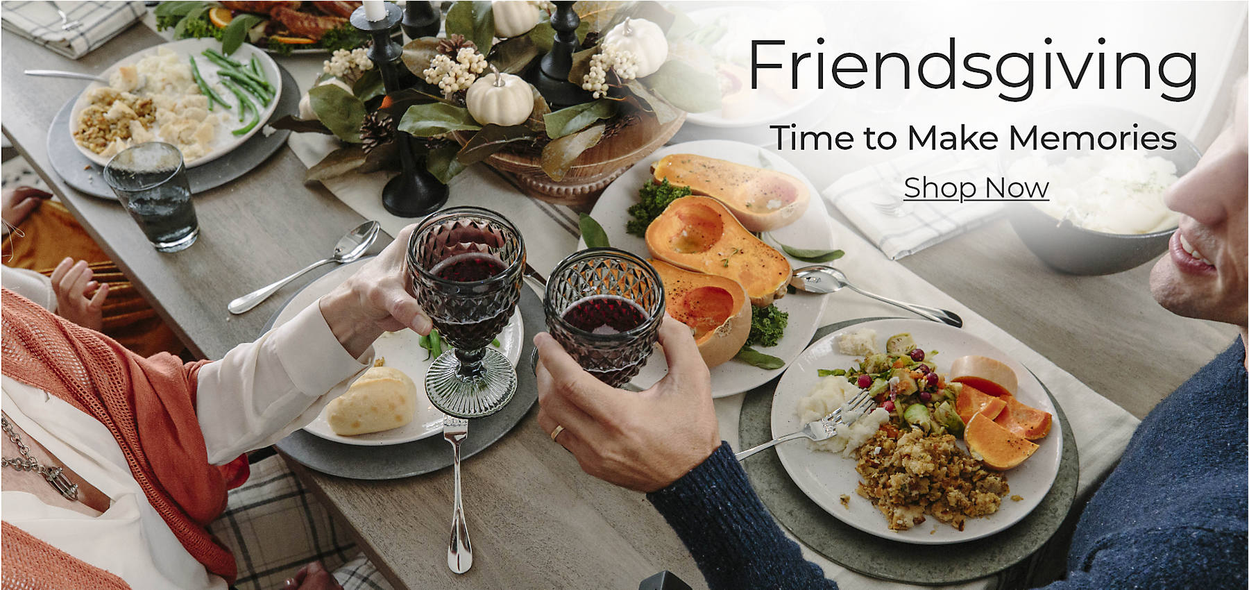 Friendsgiving Time to Make Memories Shop Now