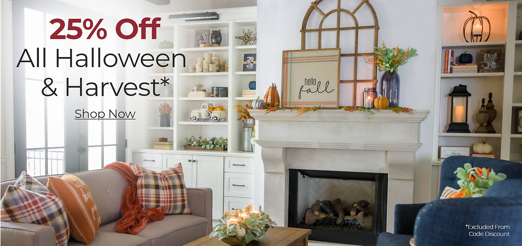 Harvest and Halloween 25% off