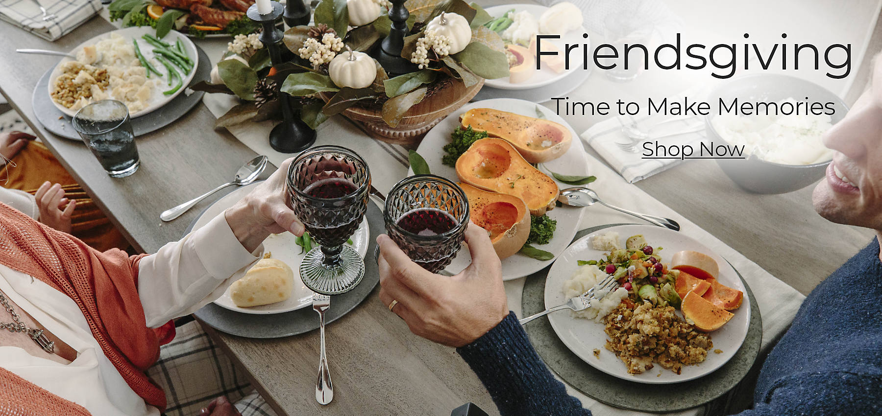 Friendsgiving Time to Make Memories