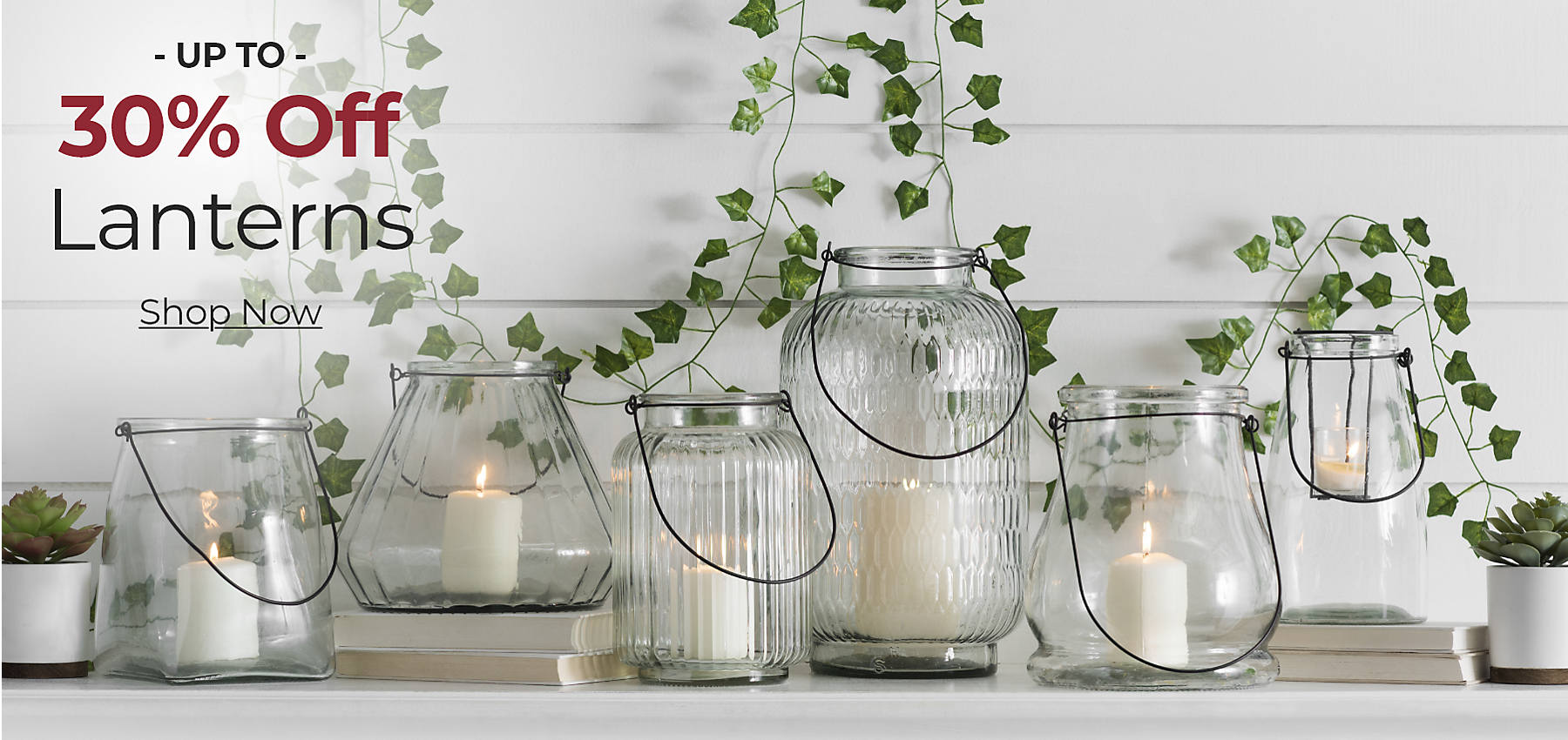 Lanterns Up to 30% Off
