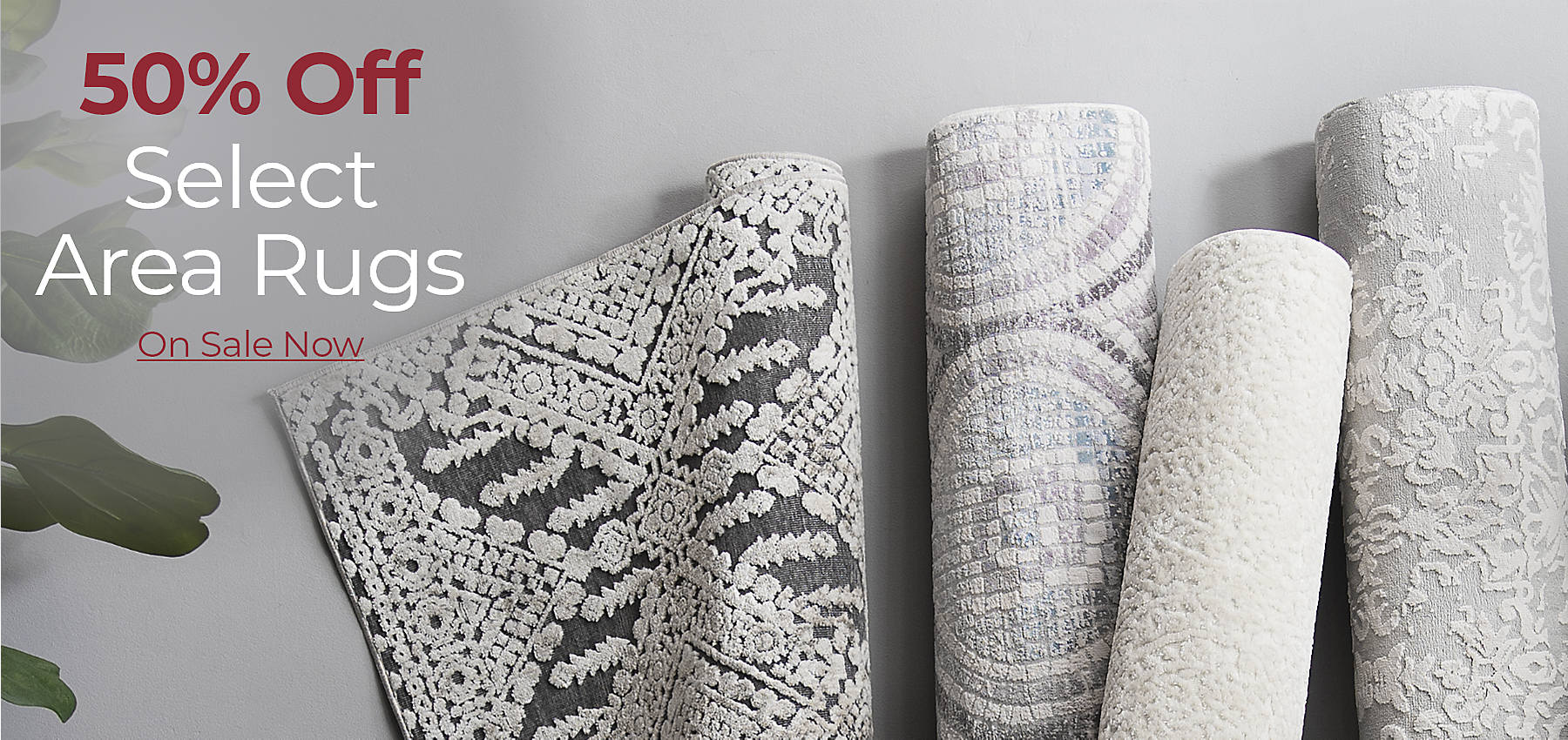 50% Off Select Area Rugs On Sale Now