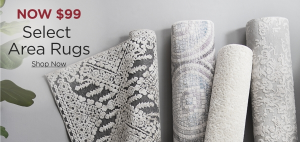 50% Off Select Area Rugs Shop Now