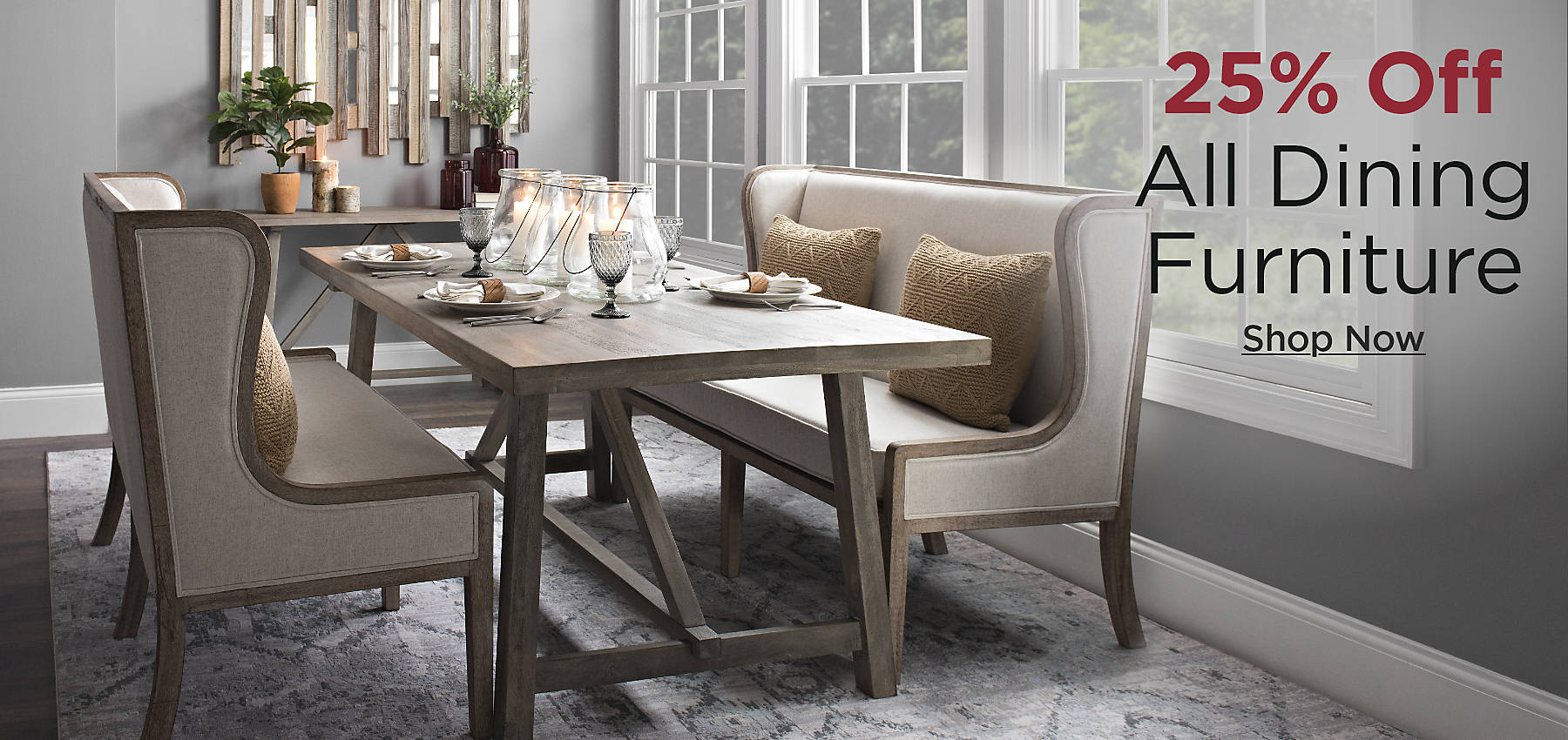 25% Off All Dining Furniture
