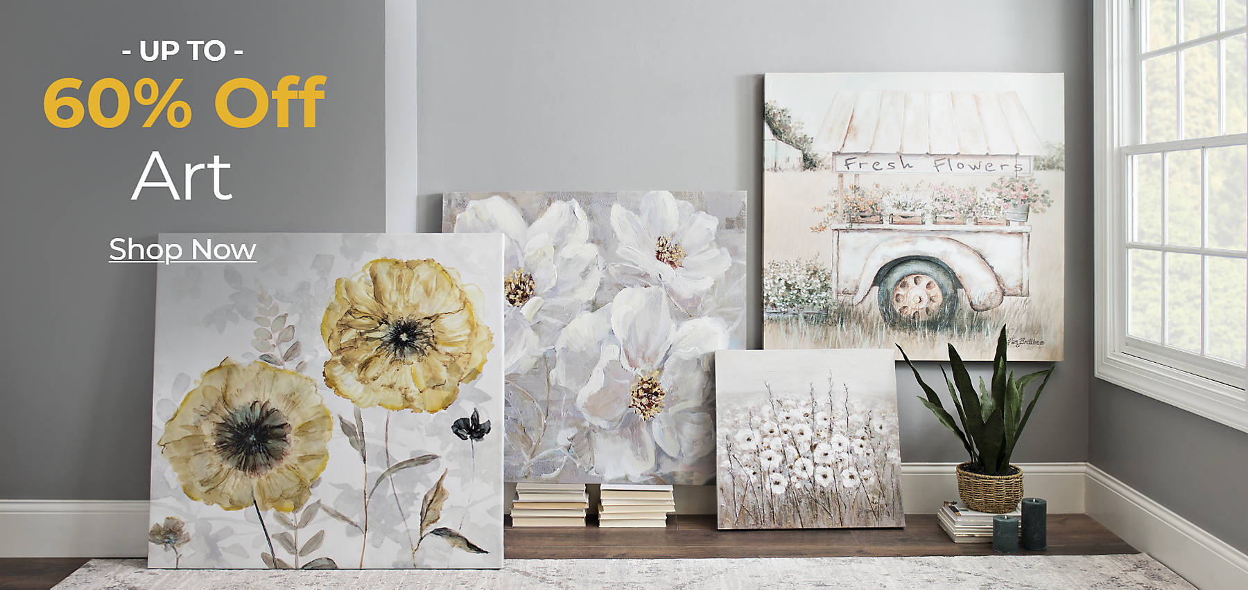 Up to 60% off Art Shop Now