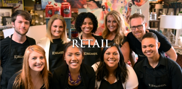 Retail - Be part of the everyday excitement at Kirkland's.
