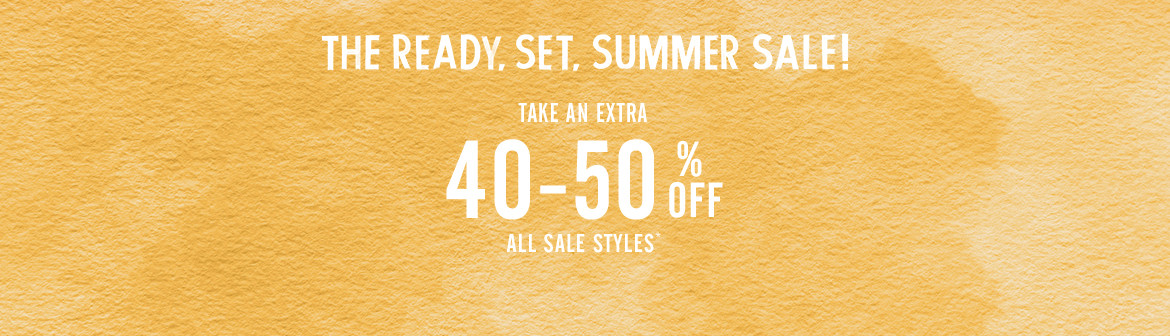 40-50% Off All Sale Styles