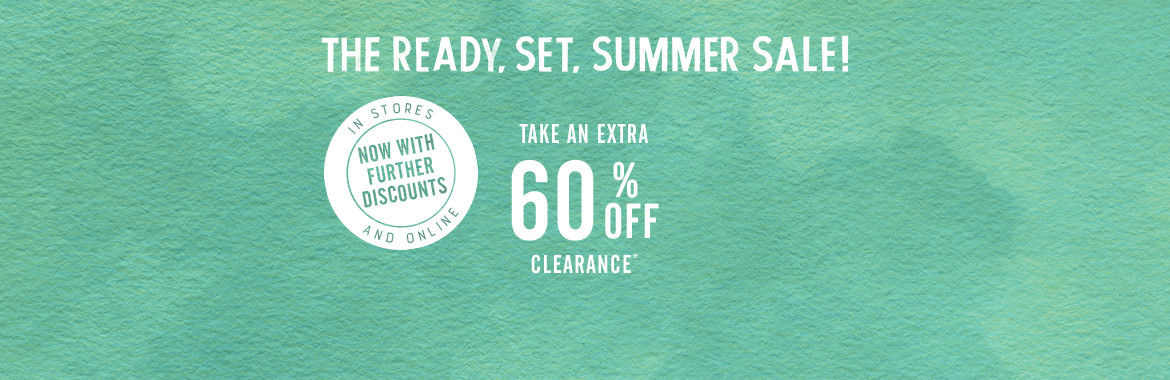 Take An Extra 60% Off Clearance