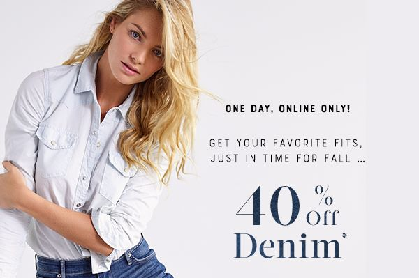 40% Off Denim