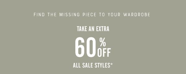 Take an Extra 60% Off
