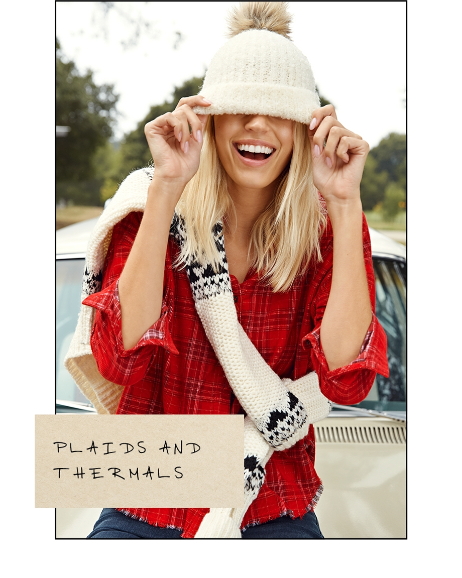 Women's Plaids and Thermals