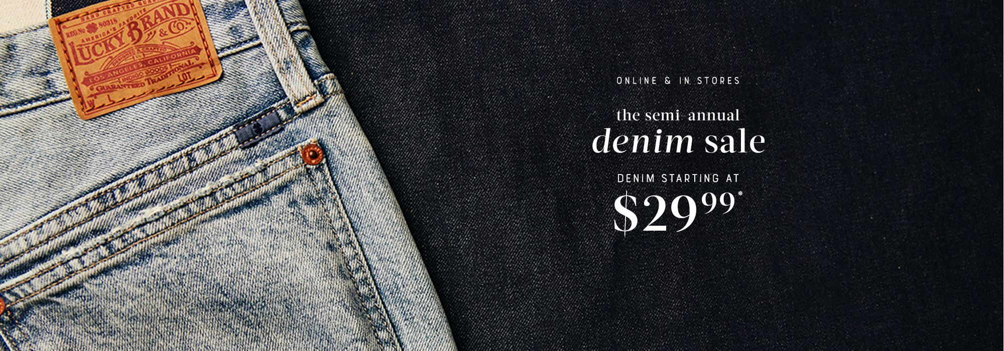 Semi Annual Denim Sale