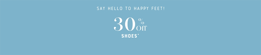 30% Off Shoes
