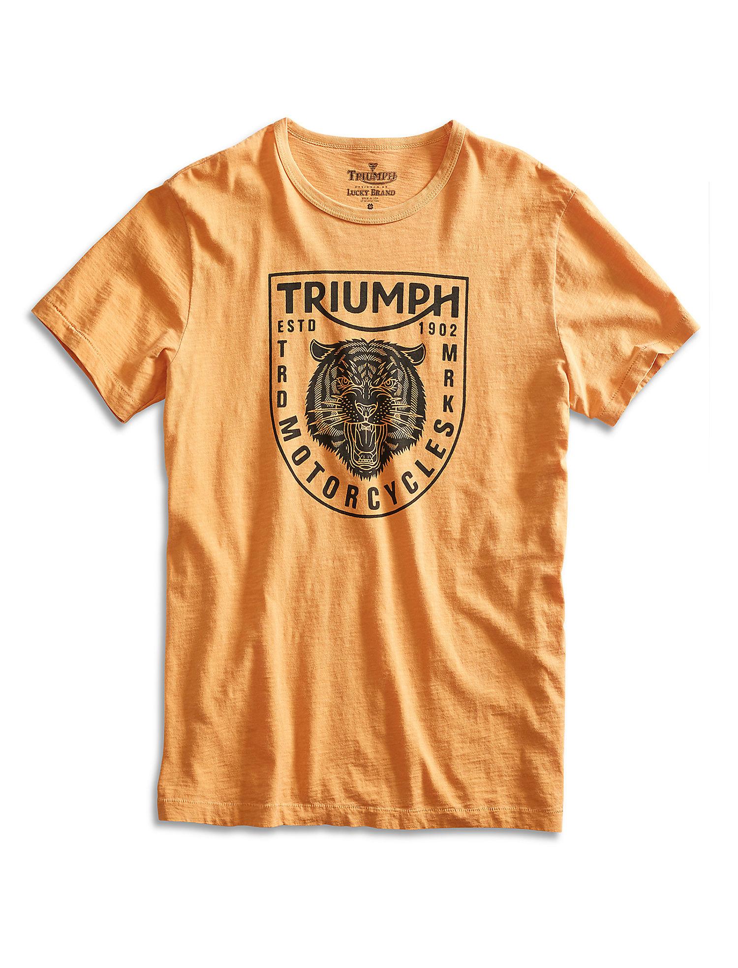 7ce1a27de Image is loading Lucky-Brand-Men-039-s-Triumph-Tiger-Head