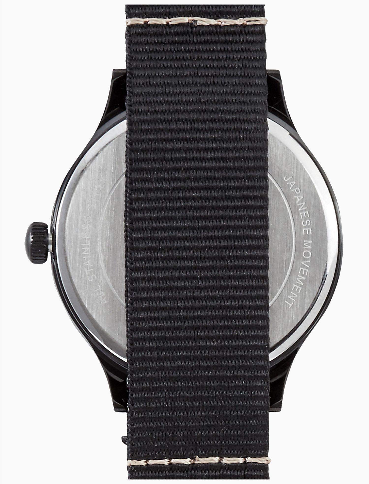 ad0c6bf93ef4 Lucky Brand Jefferson Nato Black Watch