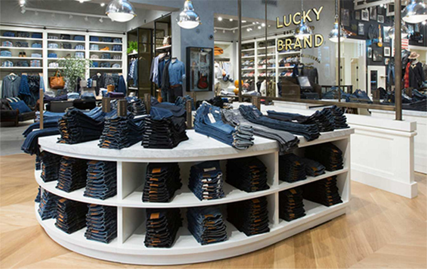 Lucky brand clothing store