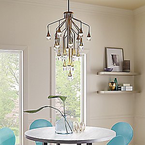 Chandeliers and Linear Suspensions