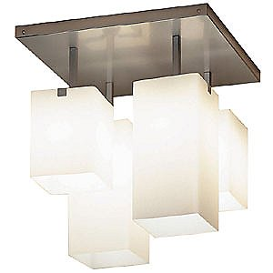 Cubox 3 Four Light Flushmount by Illuminating Experiences Product picture - 982