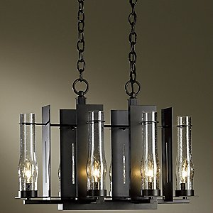 New Town Six Light Chandelier by Hubbardton Forge