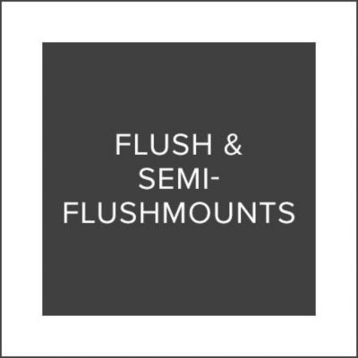 Black Friday Sale Flush & Semi‑Flushmounts