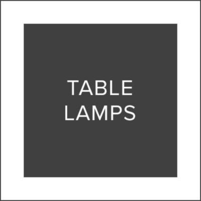 Black Friday Sale Table Lamps