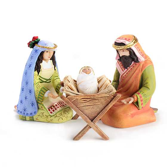 Patience Brewster Nativity Holy Family Figures