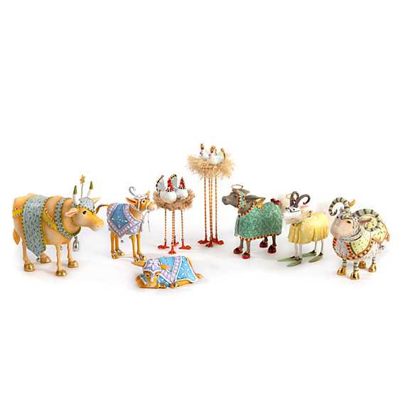 Patience Brewster Nativity Manger Ram Figure image four