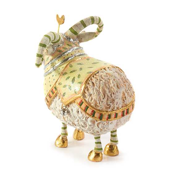 Patience Brewster Nativity Manger Ram Figure image three