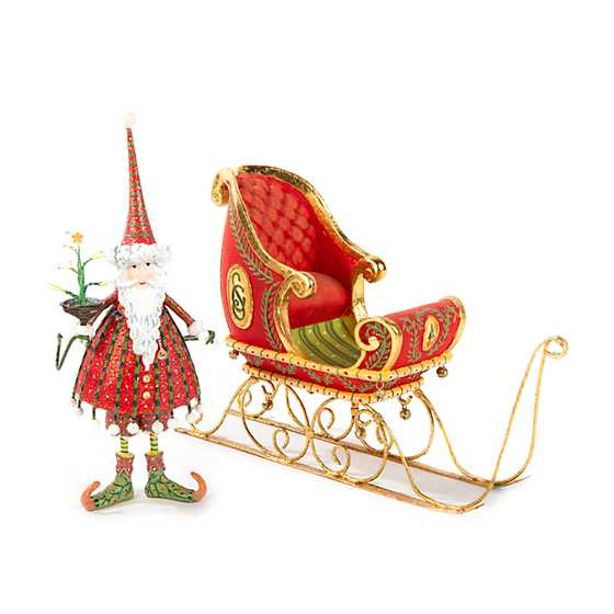 Patience Brewster Dash Away Dashing Santa Ornament image four