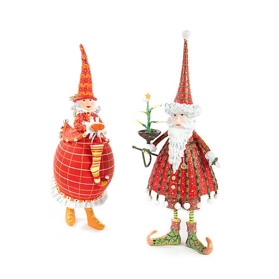 Patience Brewster Dash Away Dashing Santa Ornament image six